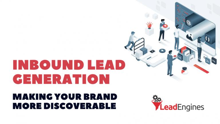 inbound lead generation lead engines