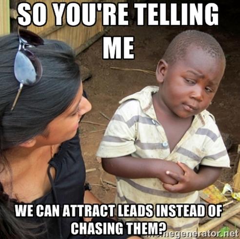 lead generation meme